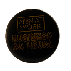 Men At Work Pin
