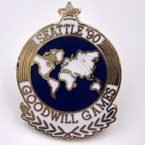 Seattle '90 Goodwill Games Pin