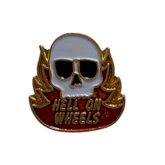 Hell On Wheels Pin