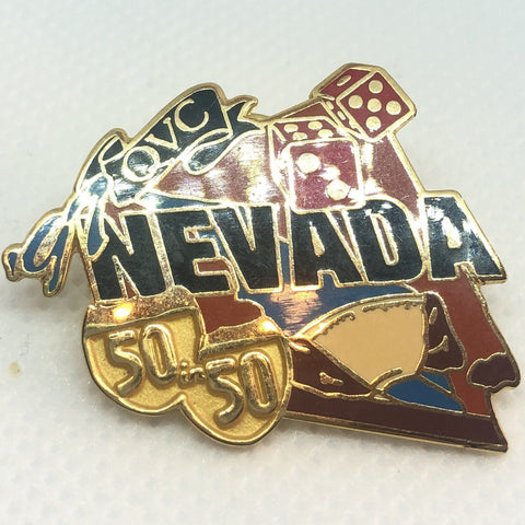 '97 QVC Nevada Pin