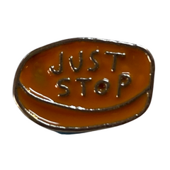 Just Stop Pill Pin