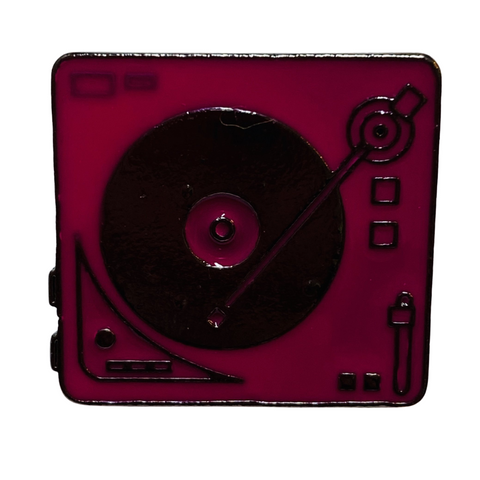 Pink Turntable Pin