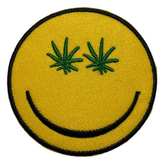 Cannabis Emoji Patch
