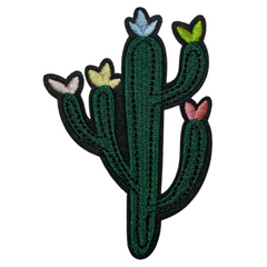 Cactus With Flowers Patch