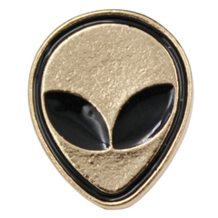 Alien Head Pin