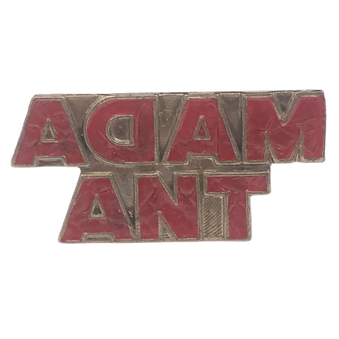 Adam Ant Pin
