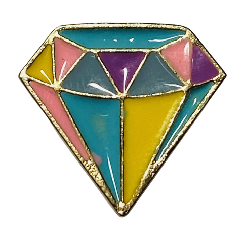 Geometric Diamond Pin