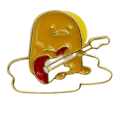Gudetama Guitar Pin