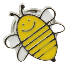 Happy Bee Pin