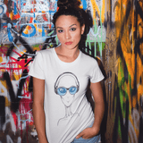 Alien DJ Women's T-Shirt