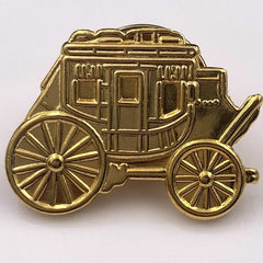 Stagecoach Pin