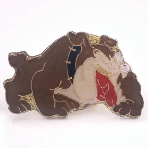 Spike the Bulldog Pin