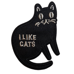 I Like Cats Patch