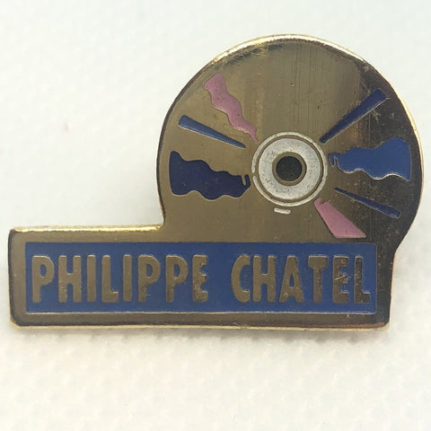 Philippe Chatel Compact Disc Pin