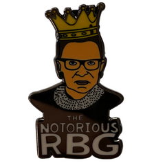 Notorious RBG Pin