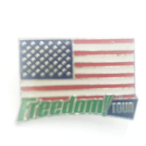 Freedom Tour American Flag Pin