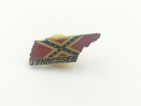 Tennessee Flag State Pin