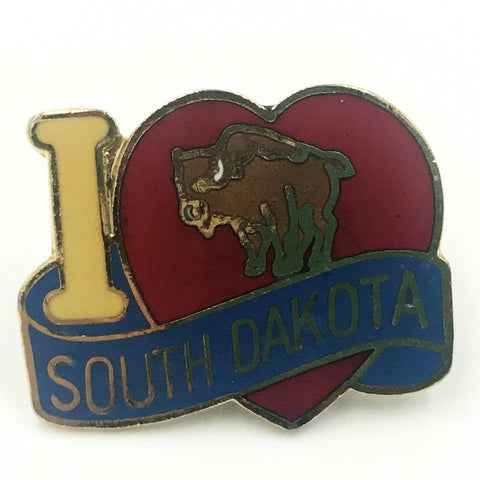 i love south dakota pin