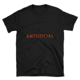 antisocial t shirt