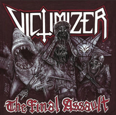 Victimizer - The Final Assault [Red/Grey Splatter Vinyl]