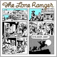 Lone Ranger - Hi-Yo, Silver, Away! (LP, Album, RE) (M)