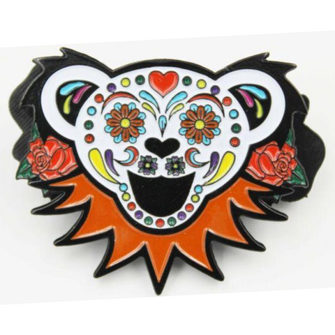 Grateful Dead Bear Pin