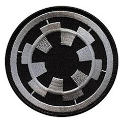 Star Wars Imperial Target Patch