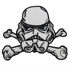 Stormtrooper Skull & Crossbones Patch