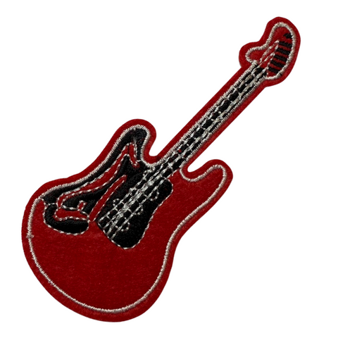 Red Guitar Patch