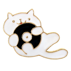 Hip Cat Pin