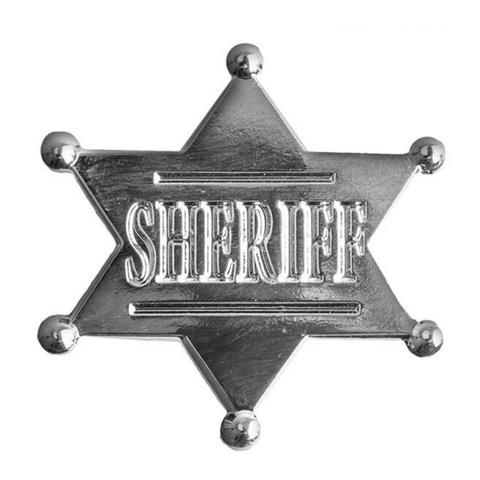 Sheriff Pin