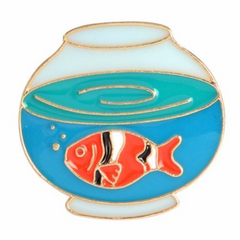 Fishbowl Pin