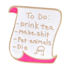 To Do List Pin