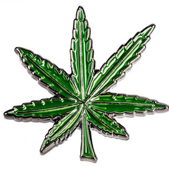 Cannabis Leaf Pin
