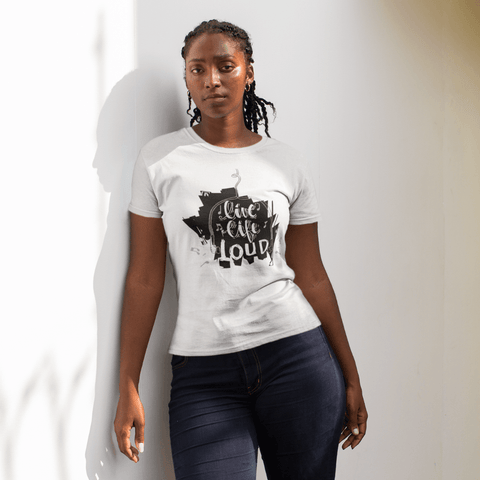Live Life Loud Women's T-Shirt
