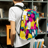 Vinyl Record Backpack