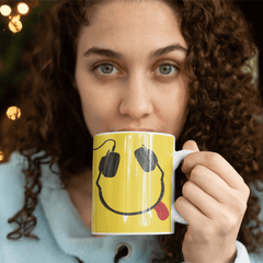 headphones mug
