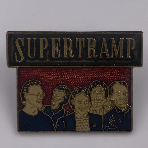 Supertramp Pin