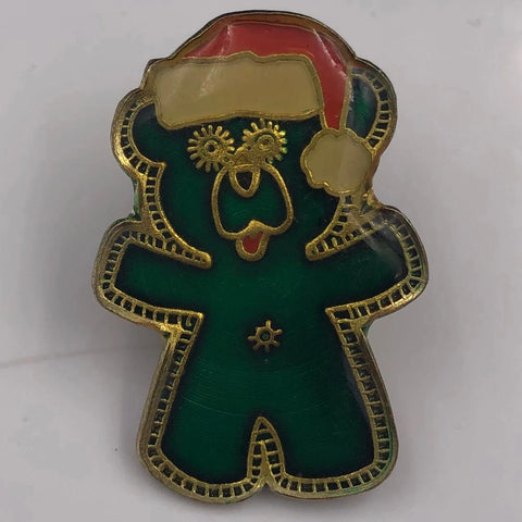 Christmas Bear Pin