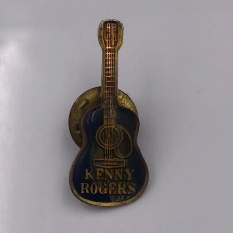 Kenny Rodgers Guitar Pin