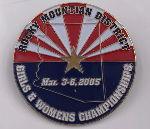 Rocky Mountain District Girls & Womens Championships Pin