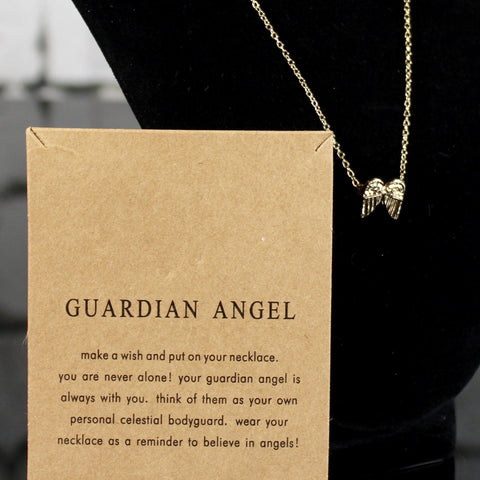 Guardian Angel Charm Necklace