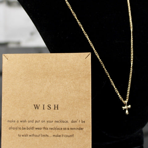 Wish Charm Necklace