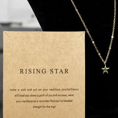 Rising Star Charm Necklace