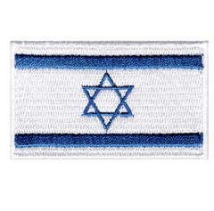 israeli-flag-patch