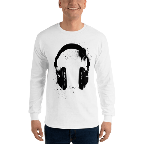 Headphones Long Sleeve T-Shirt