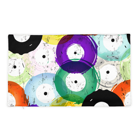 Vinyl Record Pillow Case
