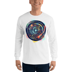 Mens Nightclub Bar Dj Long Sleeve T-Shirt