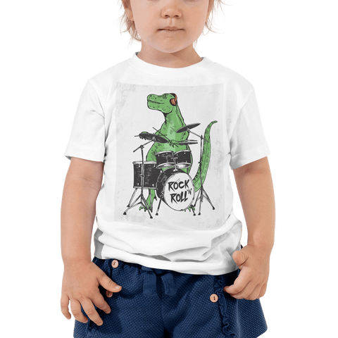 Rock n' Roll Toddler Short Sleeve Tee