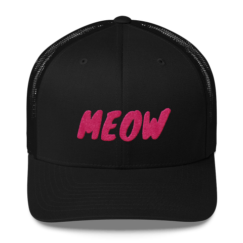 MEOW Hat Pink